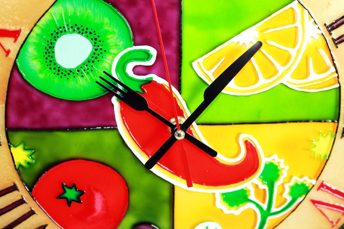 Часы настенные «Кухонные» (d=25) (1) - 1