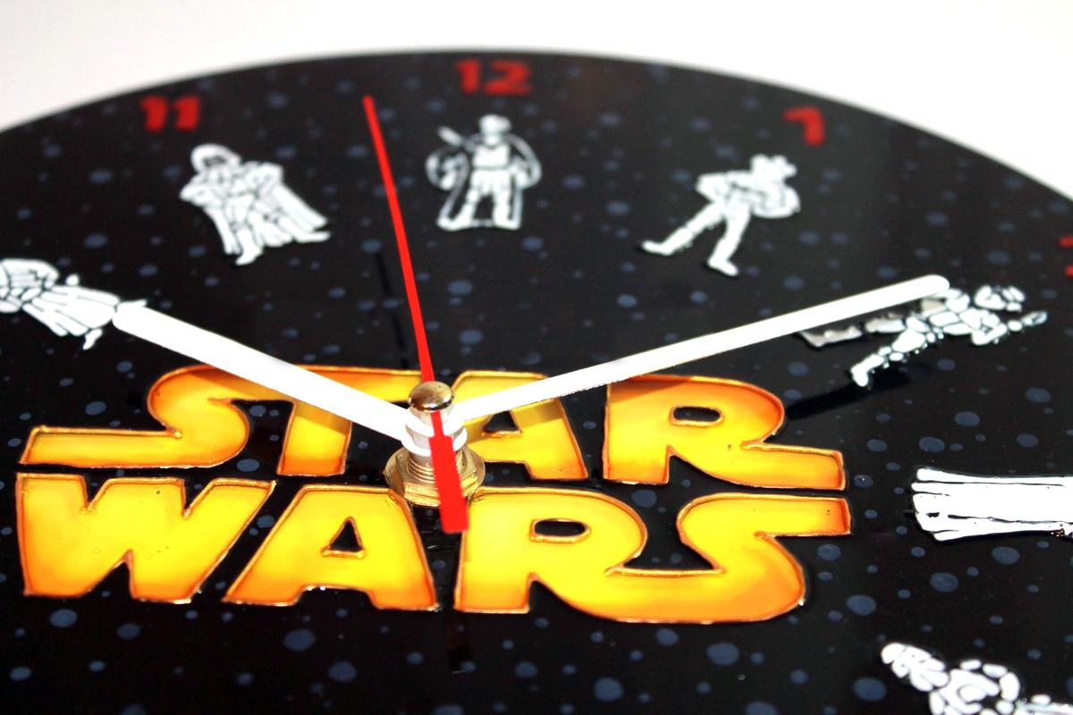 Часы настенные «Звездные войны» (d=25) (1) - 1