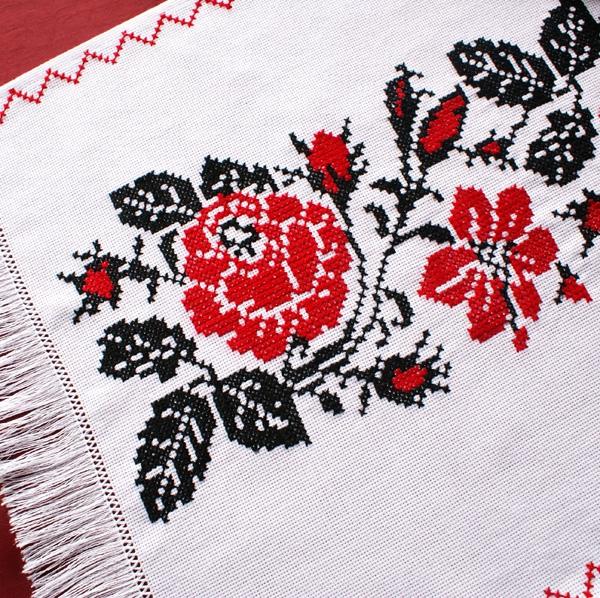 """Wedding rushnyk """"Rose"""" (1) - 1"""