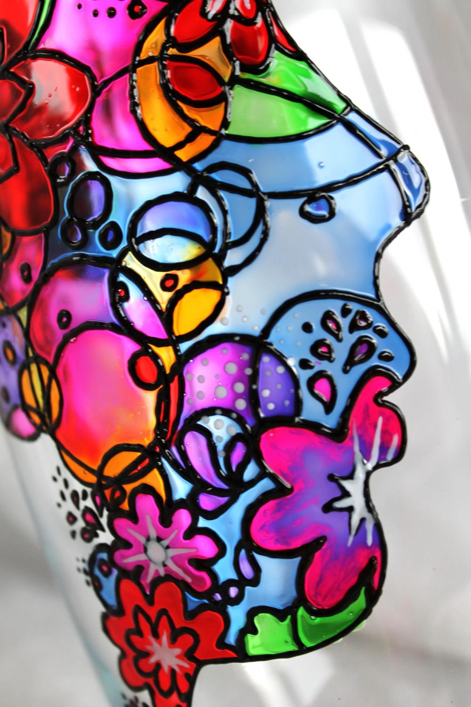 """Vase-candleholder """"Face"""" (1) - 2"""
