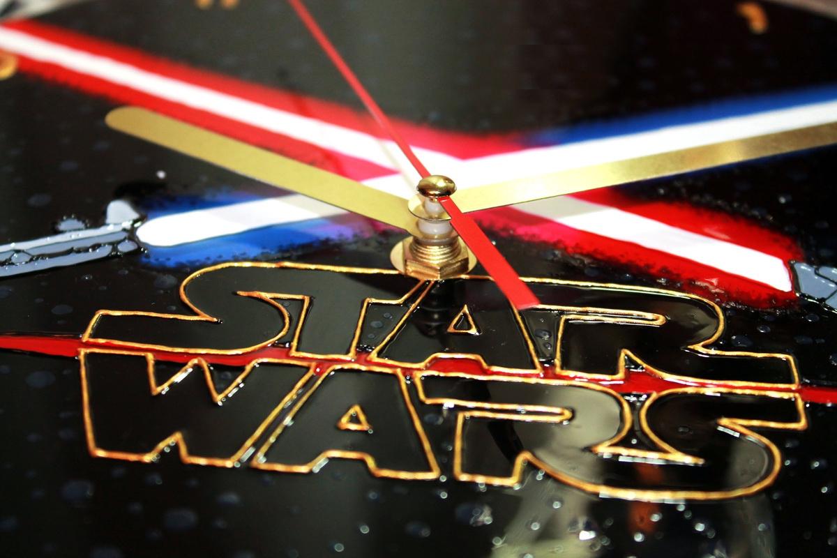 """Wall clock """"Star Wars"""" (d=25) (1) - 1"""