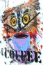 "Wall clock ""Coffee nerd"" (25х25) (1) - 1"