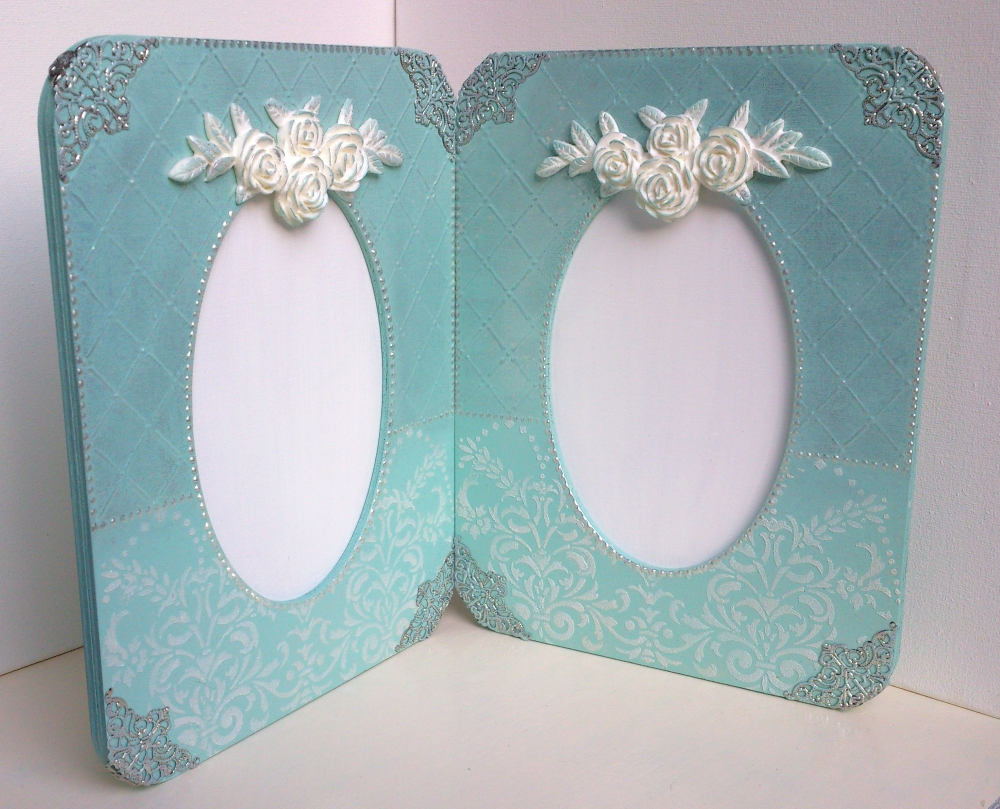 "Wedding photo frame ""Halves""(1) - 585"