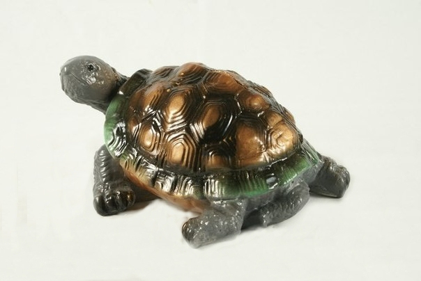"Gypsum figurine ""Small turtle""(1) - 252"