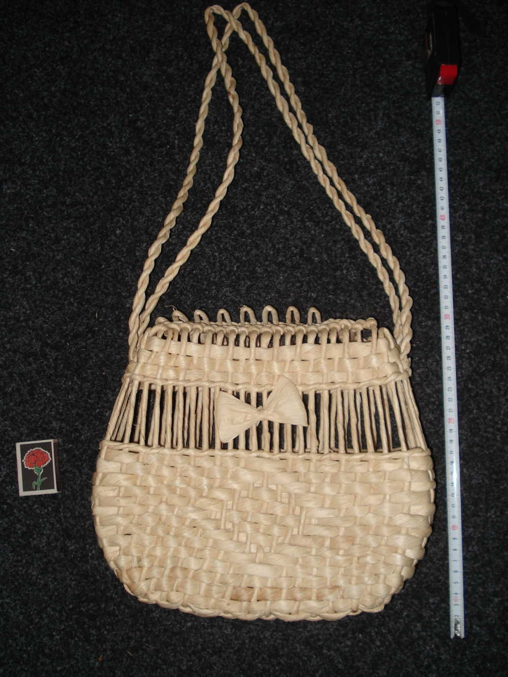 "Purse of straw ""Wonder"" (1) - 454"