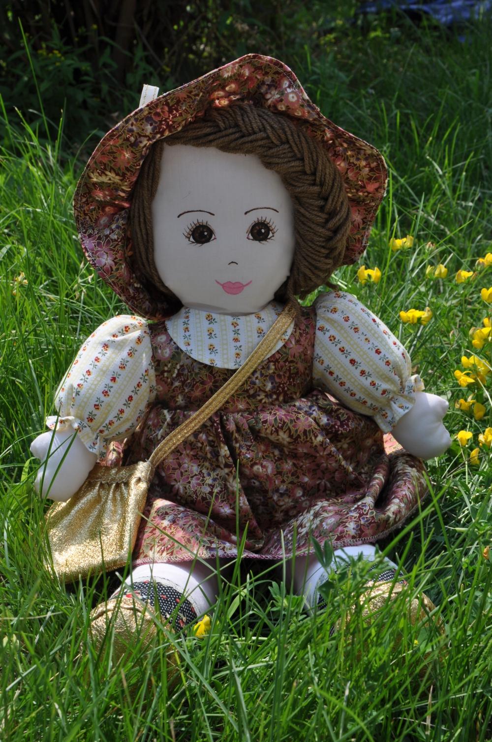 Кукла леди своими руками 8