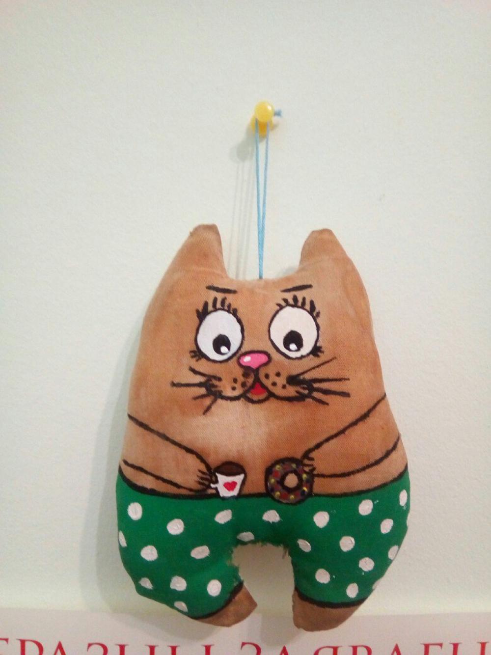 Dekorativ Katze Guten Morgen 1