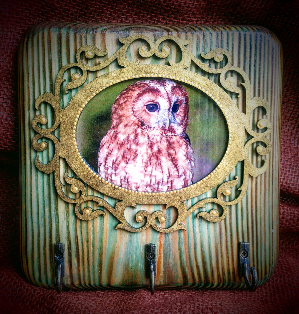 "Key holder ""Owl""(1) - 582"