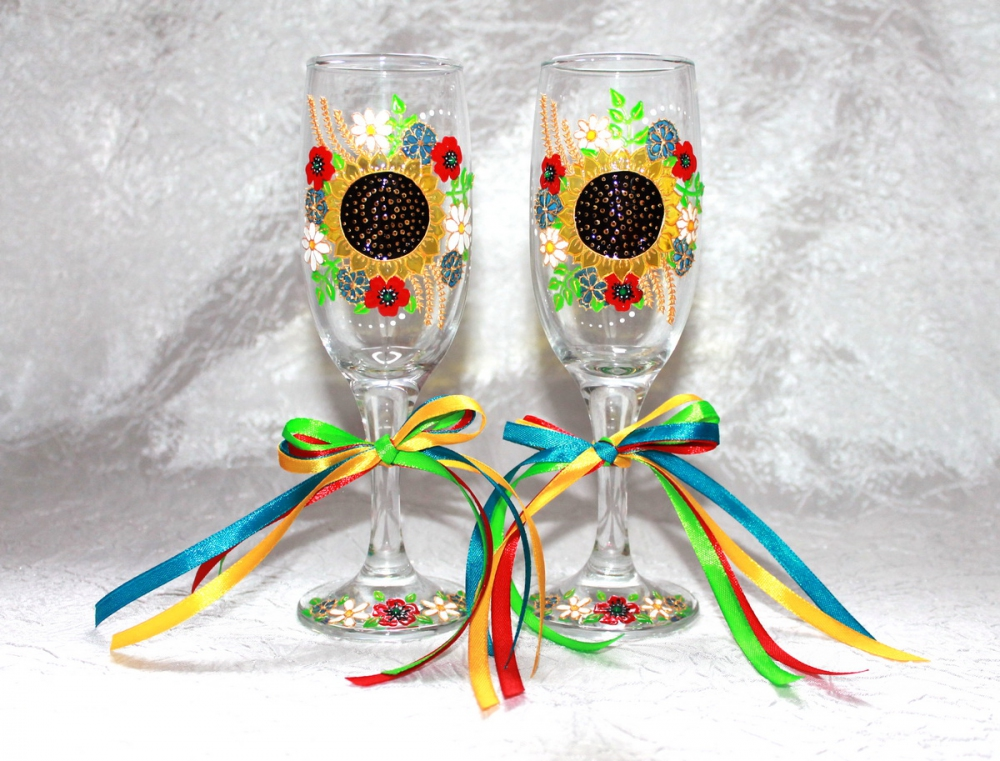"Glasses ""Ukrainian"" (1 pair) - 510"